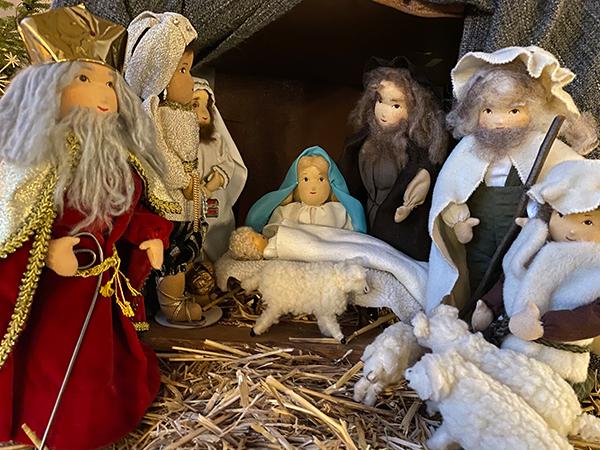 Weihnachtsgrüße von nah und fern
