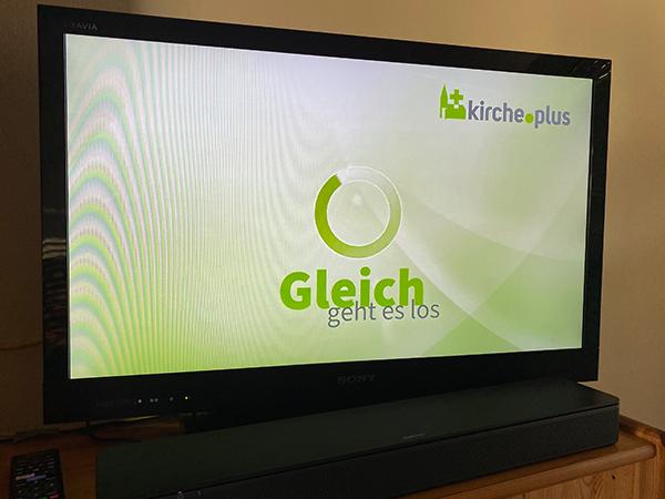 Gottesdienst im TV-Format
